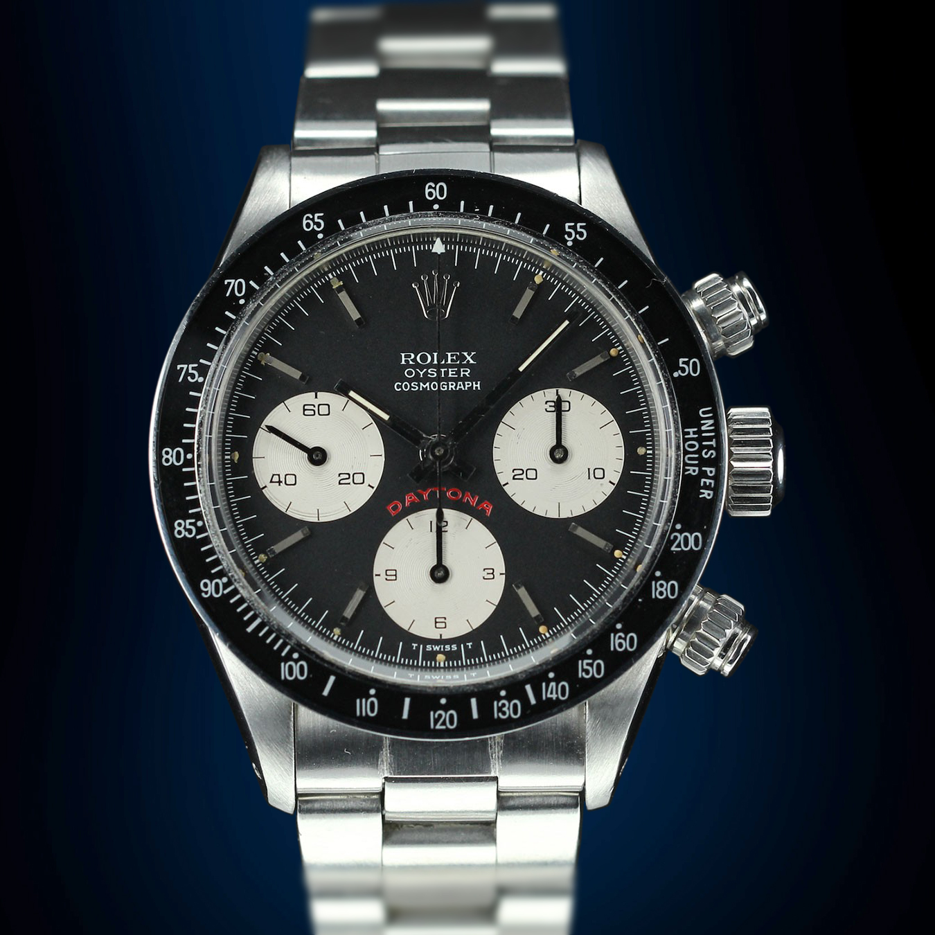 Rolex Daytona Big Red cadran noir occasion