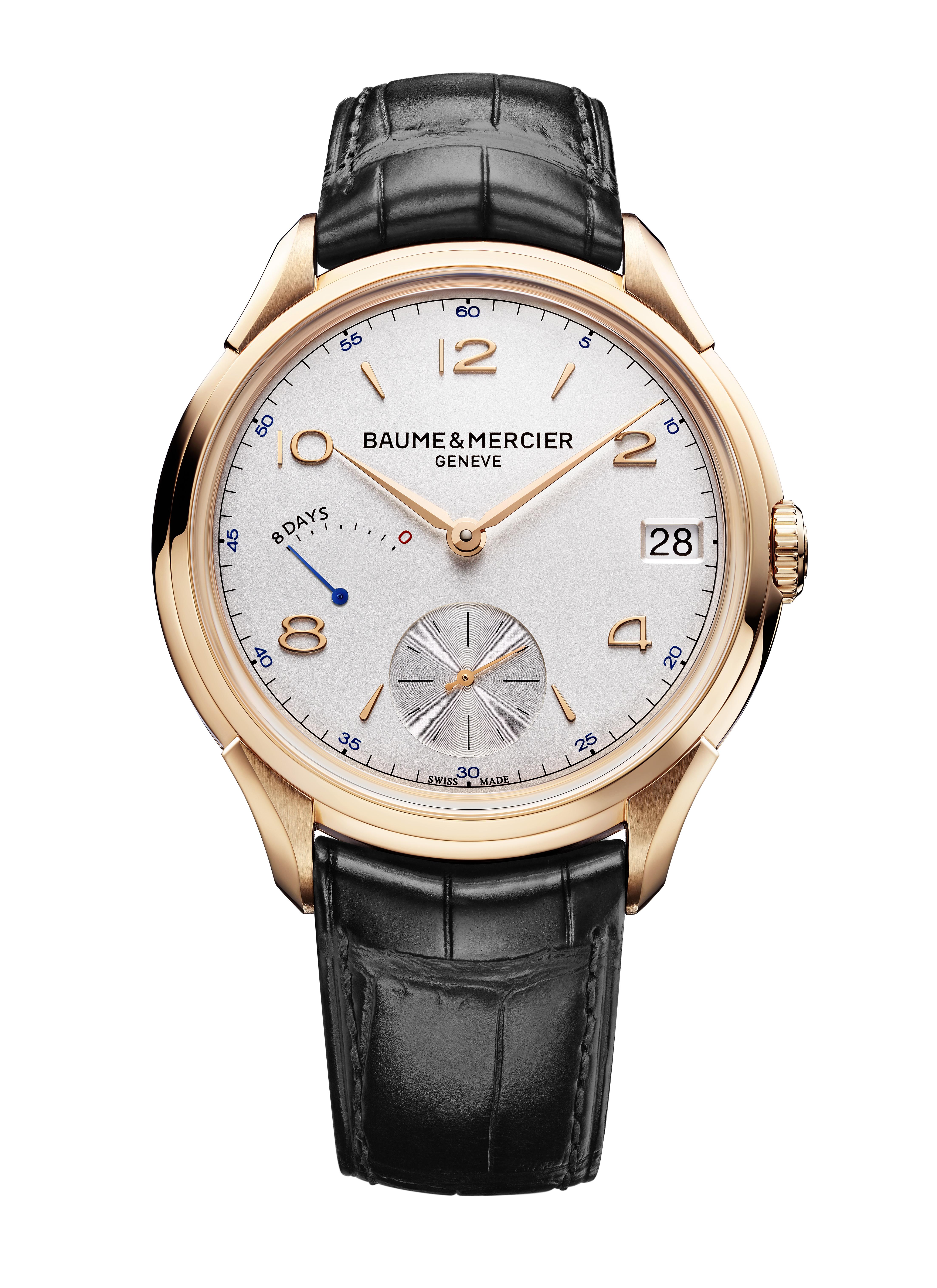 Une montre symbole pour Célébrer les 185 ans d'expertise de la maison Baume & Mercier