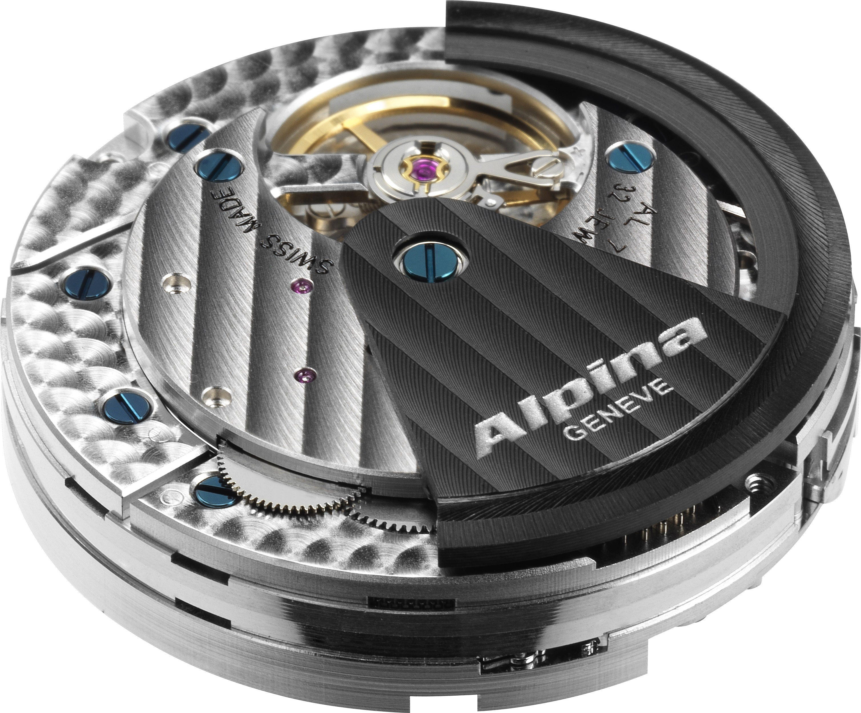 ​Alpiner 4 Chronographe Manufacture Flyback : premier mouvement chronographe manufacture dans l'histoire d'Alpina