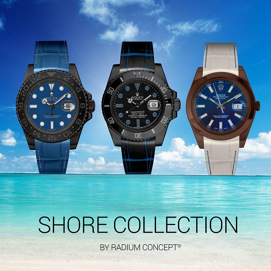 Personnalisez votre montre... Bracelets Radium Concept.