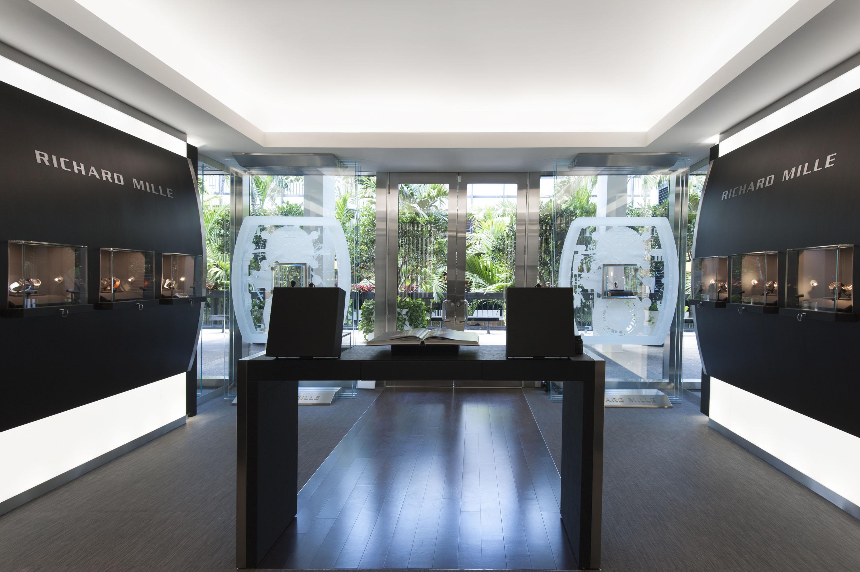Richard Mille ouvre une troisième boutique en Amérique, au Bal Harbour Shops