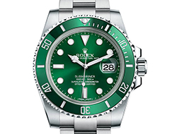 Prix du neuf Rolex 2015 Submariner 116610 LV Acier Date