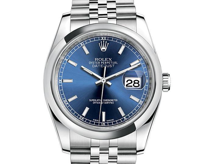 Prix du neuf Rolex 2015 Datejust (36mm) acier bracelet Jubile