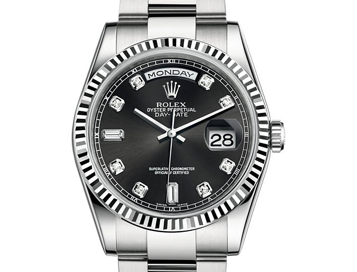 Rolex Day-Date or gris (36mm)