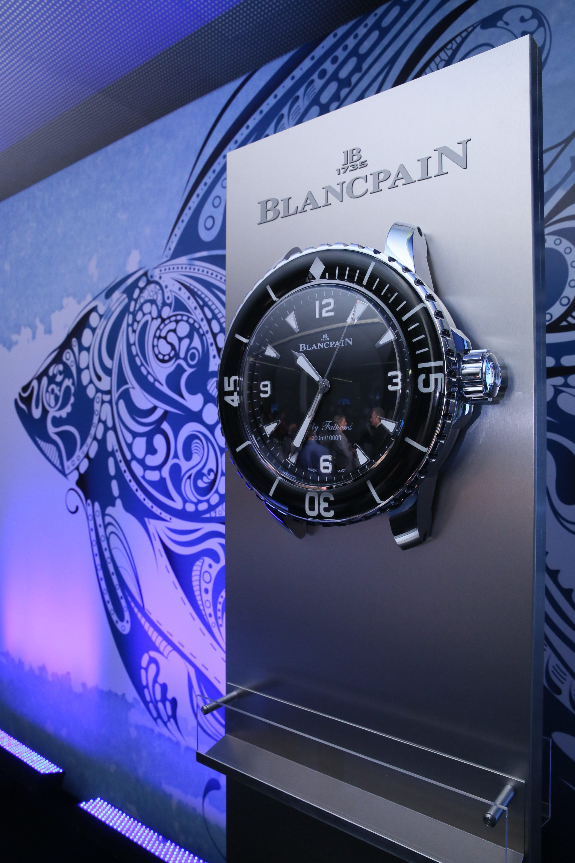 ​Blancpain au World Ocean Summit : un acteur majeur de l'innovation