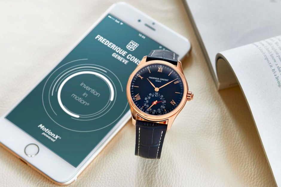 La nouvelle version de l'Horological Smartwatch par Frédérique Constant.