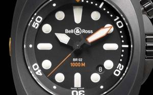 BELL & ROSS INSTRUMENT BR 02 - 1000 M Boîtier 44 mm