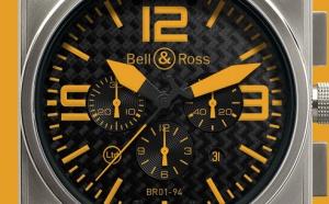 BELL & ROSS INSTRUMENT BR 01 TITANIUM ORANGE