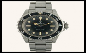 Rolex Submariner 5513 - cadran mat - indexes non cerclés