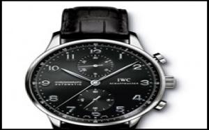Occasion IWC Portugaise chrono cadran noir