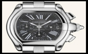 Montre d'occasion Cartier Roadster Chronographe