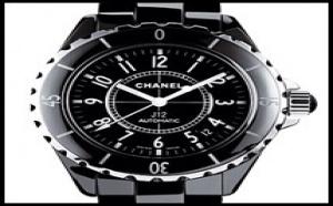 Occasion Chanel J12 Chronographe Céramique Noire - Blanche