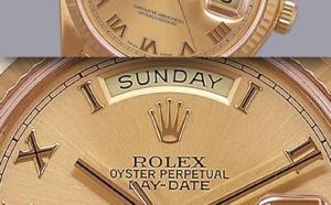 Comment identifier une contrefaçon Rolex datejust gold