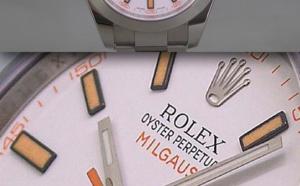 Comment identifier une contrefaçon Rolex Milgauss 116400 cadran blanc