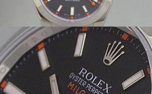 Comment identifier une contrefaçon Rolex Milgauss 116400 cadran noir
