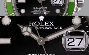 Comment identifier une contrefaçon Rolex Submariner 16610 LV
