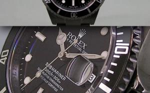 Comment identifier une contrefaçon Rolex Submariner 16610 PVD