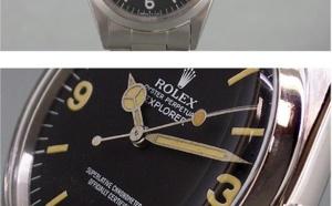 Comment identifier une contrefaçon Rolex Explorer I référence 1019 vintage