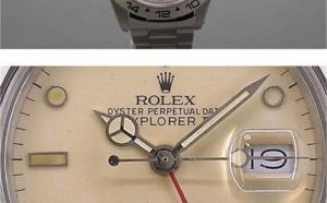 Comment identifier une contrefaçon Rolex Explorer II référence 16550 - beige