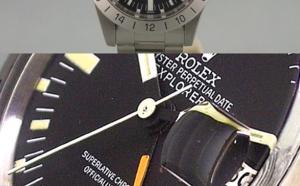 Comment identifier une contrefaçon Rolex Explorer II référence 1665 vintage