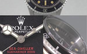 Comment identifier une contrefaçon Rolex Sea-Dweller 1665 Double-Red