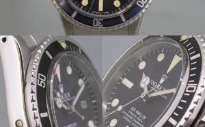 Comment identifier une contrefaçon Rolex Sea-Dweller 1665