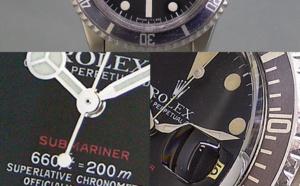 Comment identifier une contrefaçon Rolex Submariner Date vintage 1680