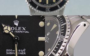 Comment identifier une contrefaçon Rolex Submariner 5513