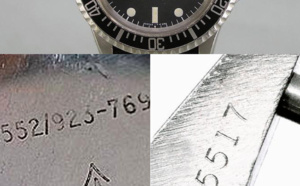 Comment identifier une contrefaçon Rolex Sumbariner 5517 militaire