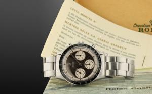Rolex Daytona Paul Newman 6241 full set cadran noir