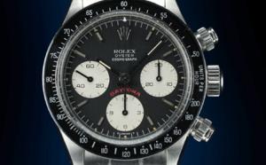 "Rolex Daytona 6263 acier ""Big Red"" cadran noir"