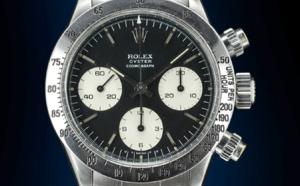 Rolex Daytona 6265 acier cadran gris