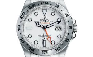 Prix du neuf Rolex 2015 Explorer II cadran blanc