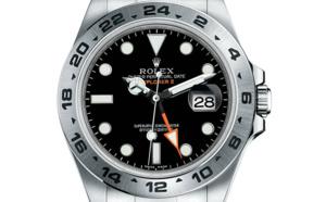 Prix du neuf Rolex 2015 Explorer II cadran noir