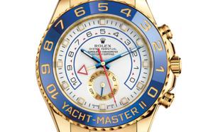 Prix du neuf Rolex 2015 Yacht-Master 2 or jaune