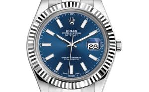 Prix du neuf Rolex 2015 Datejust 2 (41mm) or gris/acier