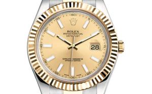 Prix du neuf Rolex 2015 Datejust 2 (41mm) or jaune/acier