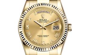 Rolex Day-Date or jaune (36mm)