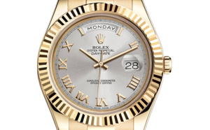 Rolex Day-Date II or jaune (41mm)