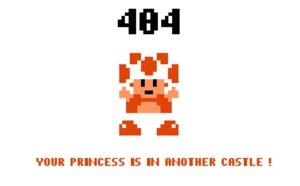 Erreur 404 - Contenu introuvable