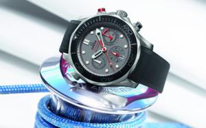 OMEGA présente la nouvelle montre Seamaster en vue de la 35ème édition de la Coupe de l'America