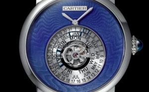 Rotonde de Cartier : Astrocalendaire, tourbillon, quantième perpétuel à affichage circulaire Calibre 9459 MC certifié poiçon de Genève