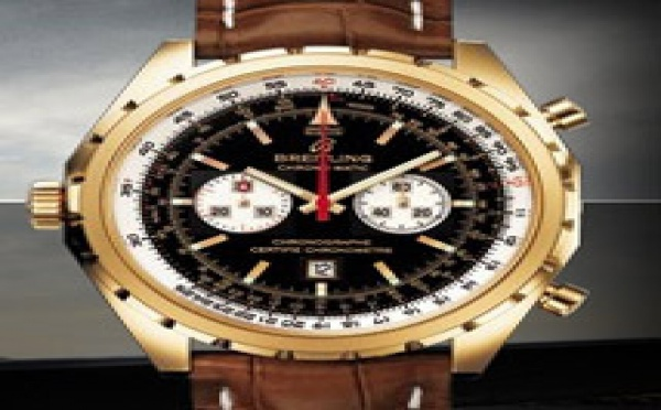 Prix du neuf Breitling Navitimer Chronomatic 446 Or Rose