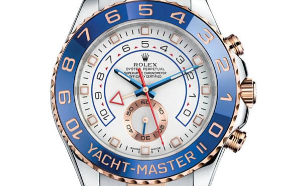Prix du neuf Rolex 2015 Yacht-Master 2 acier/Everose