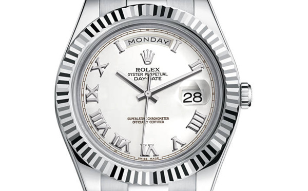af837ca4bb2 ... Rolex Day-Date II or gris (41mm)